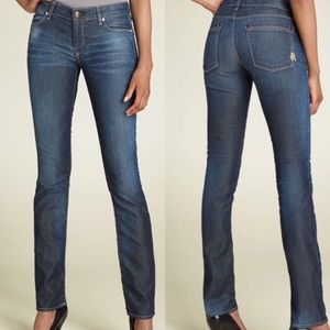 Rich & Skinny Sleek Straight Leg Stretch Jeans